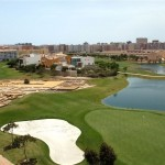Alicante Golf hole 16 and the roman ruins
