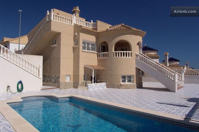 campoamor golf airbnb villa 1