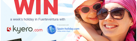 Win a holiday for 4 in Fuerteventura
